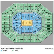 Tar Heels Basketball Seating Chart 65 Reasonable Unc Basketball Stadium Seating Chart