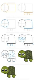 Small Picture How to draw a turtle Step by step Animals Complete Drawing