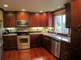 Medium dark cabinets medium floor Catchy Kitchens Pinterest