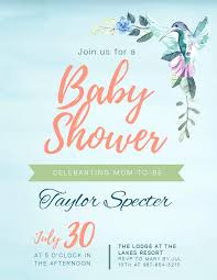 How To Make Free Invitations Invitation Template Baby Shower Free