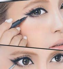if you have small eyes you can do this make up to make them look