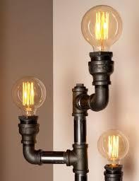 steampunk lighting. interesting lighting pipe light modern floor lamps for steampunk lighting industrial lamp  light fixtures throughout lighting g