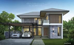 modern 2 y house plans with garage google search