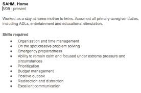 Amusing Stay At Home Mom Description For Resume 25 About Remodel Free Resume  Builder With Stay