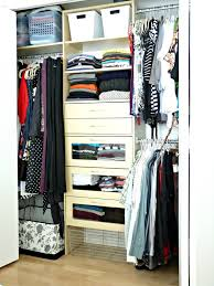 closet overhaul life without a dresser