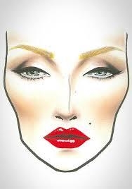 Mac Face Chart Makeup Makeup Face Charts Makeup Charts