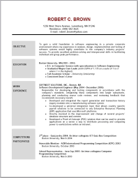 examples of objectives for resume template examples of objectives for resume