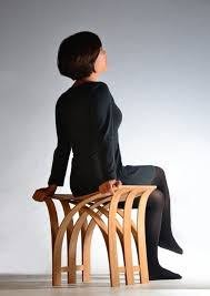 bamboo stool by taiwan based grass studio demonstrates bamboos smooth and flexible qualities becca stool bamboo furniture modern bamboo
