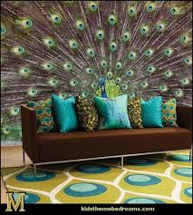 peacock inspired room. Exellent Inspired Peacock Rug Throw Pillows Wall Murals Maries Manor Feather Centerpieces And  Decor Ideas On Peacock Inspired Room P