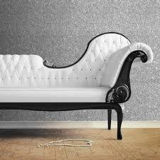 textured sparkle wallpaper silver 10m
