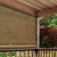 patio sun shade corded window blind