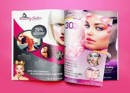 Design Professional And Elegant Beauty Salon Flyer Or Poster