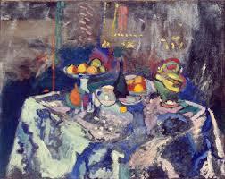 Vase, Bottle and Fruit, c.1906 - Henri Matisse - WikiArt.org