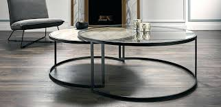 nesting glass side tables brilliant round glass nesting tables new glass nesting coffee tables chiswick glass