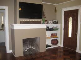 where to put tv in room with fireplace above built ins how much weight can mantel