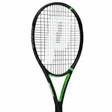 Details About Prince Vapor Pro Tennis Racket Adult Black Green Sports Racquet