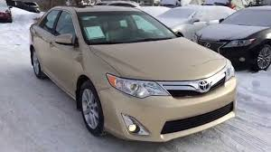 Pre Owned Tan 2012 Toyota Camry 4dr Sdn V6 Auto XLE FWD Review ...