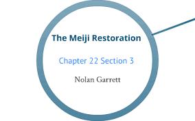 The Meiji Restoration By Nolan Garrett On Prezi