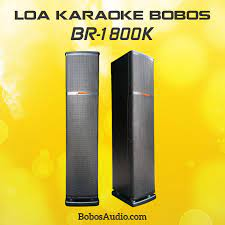 BR-1800K) LOA ĐỨNG KARAOKE BOBOS BR-1800K – BobosAudio.com