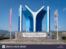 Bilecik/Türkei - September 08 2019: kayi Stamm Monument (kayi Boyu Aniti  Stockfotografie - Alamy