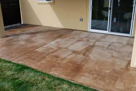 diy project how to stain a concrete patio the garden glove yourself magnificent 4