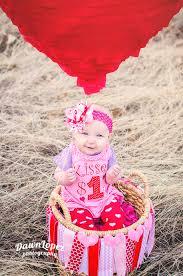 love is in the air hot air balloon mini session heart balloon diy prop basket