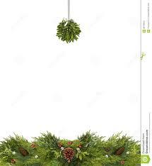 Mistletoe Ball Lights Christmas Copy Space With Mistletoe Ball And Pine Cones