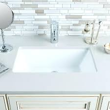 Square Undermount Bathroom Sink Astounding Square Bathroom Sinks In