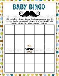 50 FREE Baby Shower Printables For A Perfect Party  Page 21 Free Printable Mustache Baby Shower Games
