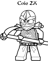 Small Picture Cole Ninjago Coloring Pages Cartoon Coloring pages of