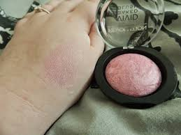 i ve always wanted a baked blush because they look so adorable in the pan and the colour is perfect for me literally perfect for me