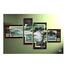 4 Piece Cheap Modern Canvas Art Decoration Oil Living Room Wall Decor  Painting Cheap Wall Frameless