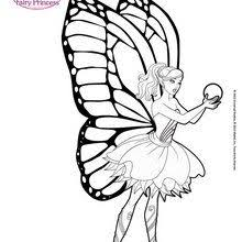 Small Picture Barbie coloring pages Hellokidscom