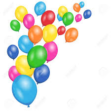 Colorful Party And Birthday Floating Balloons For Anniversary