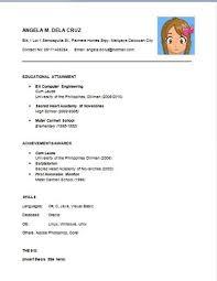 Bold Design Easy Resume Examples 11 Sample Of A Basic - CV Resume ...