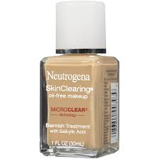 neutrogena skinclearing makeup liquid natural beige 6 1 ounce at low s in india amazon in