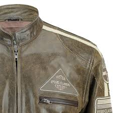 mens real soft leather fitted racing biker jacket
