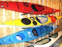 diy kayak storage how to build a kayak storage rack kayak rack garage appealing a blog