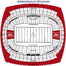New Arrowhead Stadium Seating Chart Arrowhead Stadium Seating Chart