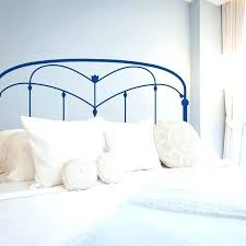 iron headboard wall decal sticker stickers walls bedroom decals