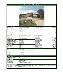 Commercial Real Estate Software - Property Datasheet