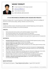 15 Hvac Resumes Samples Proposal Letter