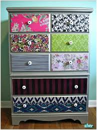 decorating furniture with paper. Contact Paper Dresser Decorating Furniture With The Budget Decorator