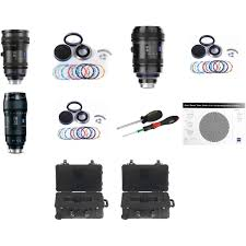 Canon Lens Test Chart Zeiss Cz 2 Pl Mount Zoom Lens Bundle With Swappable Canon Mounts Cases And Test Chart
