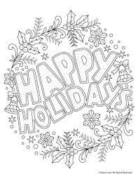Beautiful Printable Christmas Adult Coloring Pages Coloring Pages