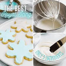 This royal icing recipe is made without meringue powder or corn syrup, and created a shining, long lasting royal icing! 3 Ingredients For The The Best Royal Icing Recipe The Recipe Critic