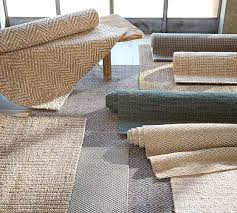 luxurious wool and jute rug of chunky wool