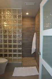 Glass block shower. Westchester Home Addition/Renovation - contemporary -  bathroom - new york