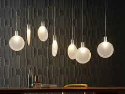 led pendant lamp nebra by fontanaarte