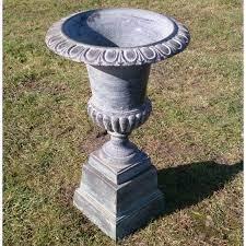 copper cast iron garden urn 87cm the